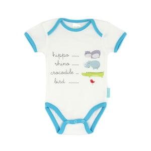 Dětské body Hippo s krátkým rukávem, 3 až 6 měsíců