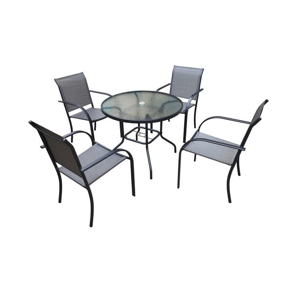 Set zahradního kovového nábytku Timpana Milo