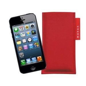 Plstěný obal na iPhone 5/5C/5S, red