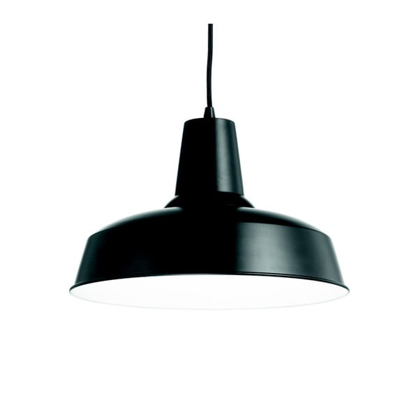 Černé závěsné svítidlo Evergreen Lights Kanuha