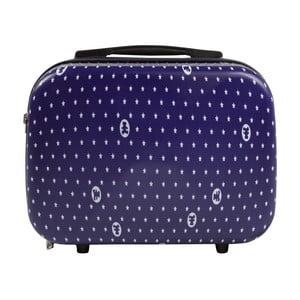Tmavě modrý příruční kufr LULU CASTAGNETTE Pierre, 17l