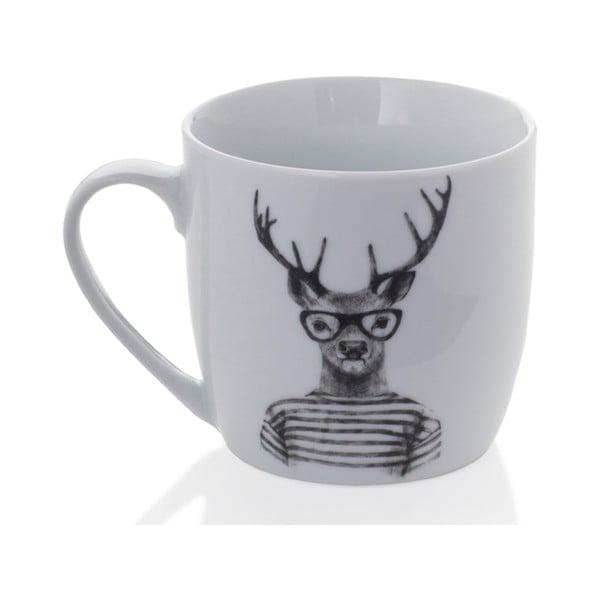 Hipster Stag porcelán bögre, 350 ml - Sabichi