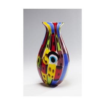Vază din sticlă Kare Design Face Colore, înălțime 36 cm de la Kare Design