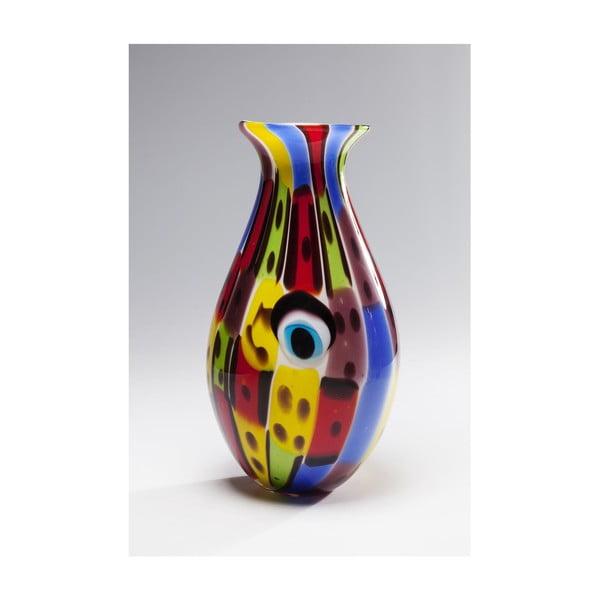 Face Colore üvegváza, magasság 36 cm - Kare Design