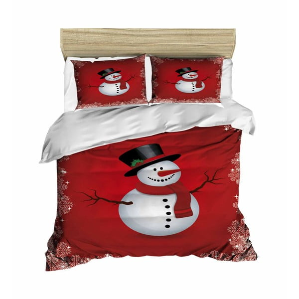 Augusto karácsonyi, kétszemélyes ágyneműhuzat lepedővel, 200 x 220 cm