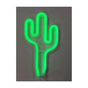 Světelná LED dekorace ve tvaru kaktusu Gift Republic Cactus
