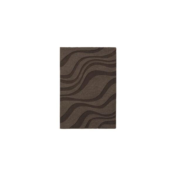 Vlněný koberec Aero Cocoa, 120x170 cm