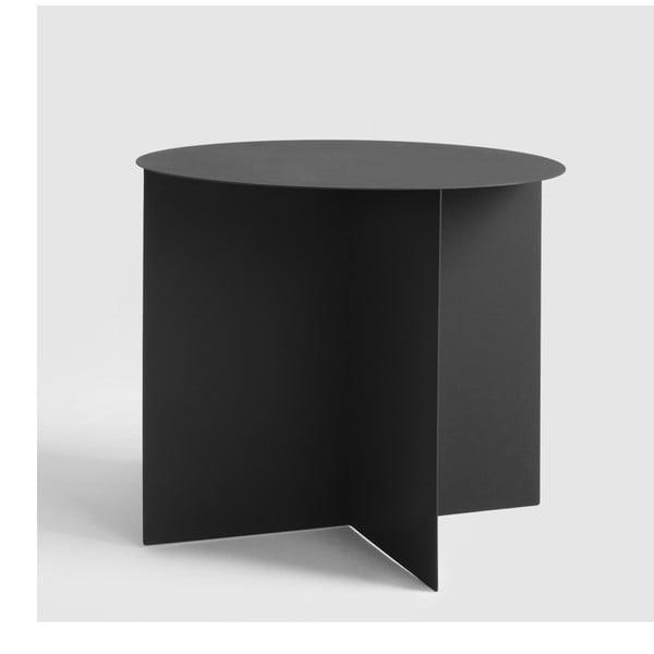 Černý konferenční stolek Custom Form Oli, ⌀50cm