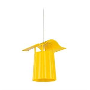 Lampadar suspendat pentru grădină Luciana, galben
