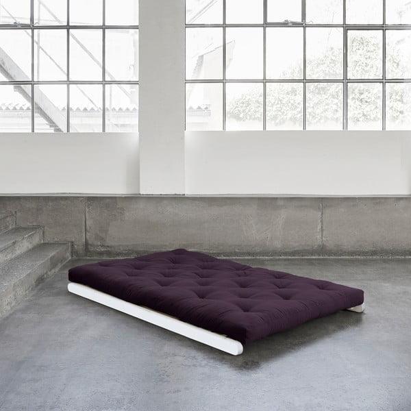 Dvoumístná variabilní lenoška Karup Figo White/Purple