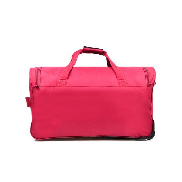 Cestovní taška na kolečkách Cadenas Red, 112 l
