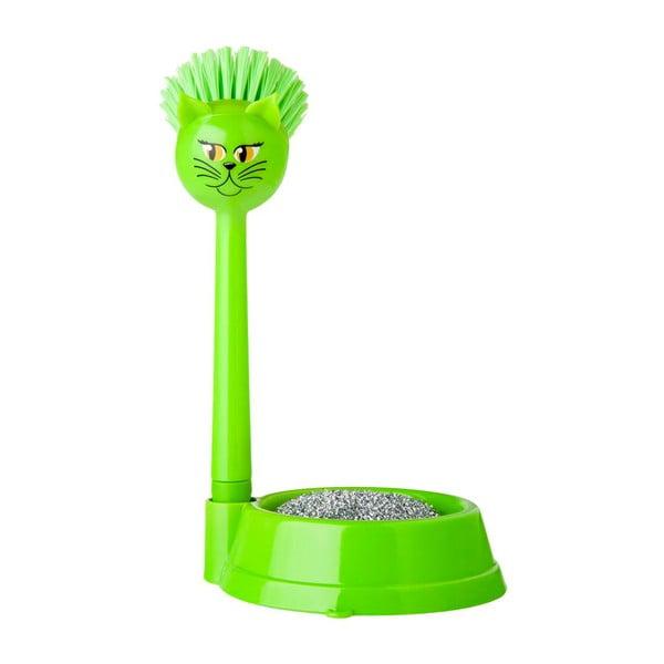 Sada na mytí nádobí Vigar Green Cat