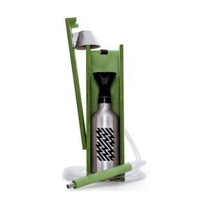 Designová vodní dýmka Hekkpipe Active, zelená