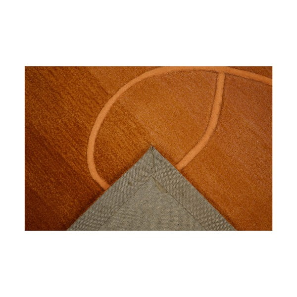 Ručně tkaný koberec Pluto, 170x240 cm, zlatavý