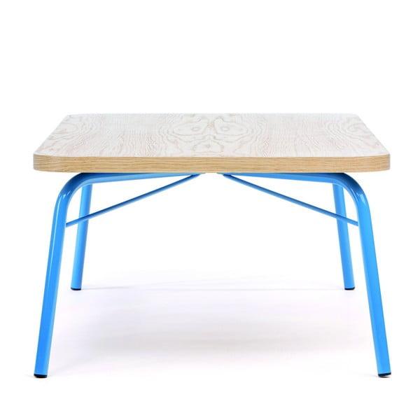 Konferenční stolek s modrými nohami Woodman Ashburn