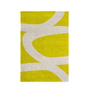 Žlutý koberec Calista Rugs Venice, 120x170cm