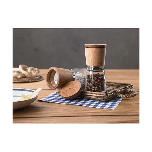 Dřevěný mlýnek na koření WMF Trend, výška 14 cm