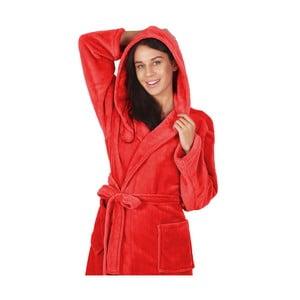 Halat baie unisex DecoKing Robby, mărime XL, roșu
