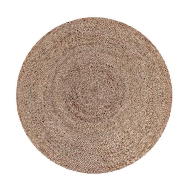 Koberec zkonopného vlákna LABEL51 Natural Rug, ⌀150cm