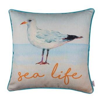 Față de pernă Apolena Seagull Sea Life, 43 x 43 cm de la Apolena