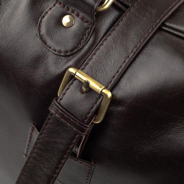 Pánská kožená taška Solier SL16, černá