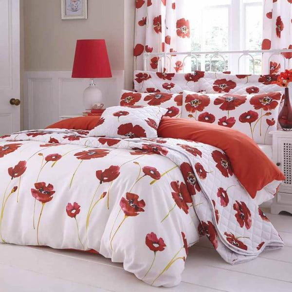 Povlečení Red Poppies, 200x200 cm