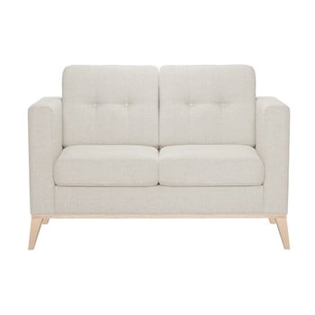 Canapea pentru 2 persoane Stella Cadente Maison Recife, crem