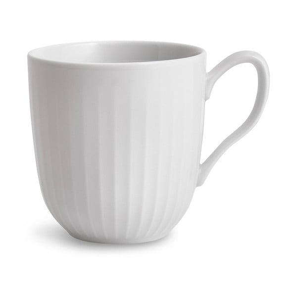 Biely porcelánový hrnček Kähler Design Hammershoi, 330 ml