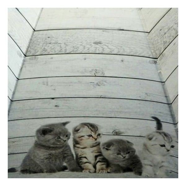 Deštník Scaffold Wood Kittens Grey