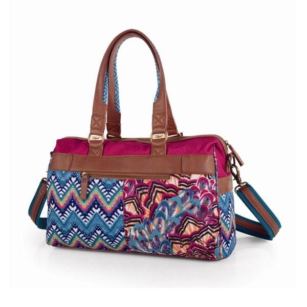 Pestrobarevná kabelka SKPA-T, 38 x 25 cm