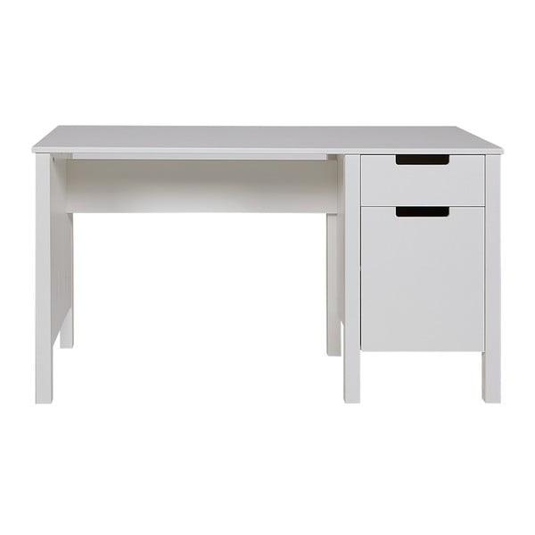 Bílý pracovní stůl De Eekhoorn Jade