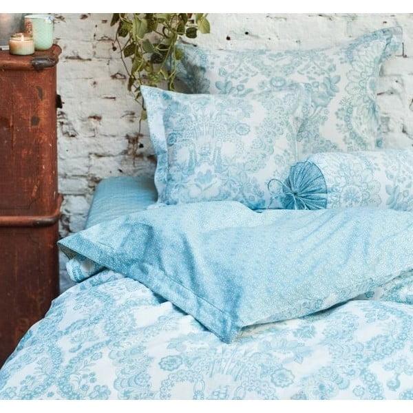 Modrý povlak na polštář Pip Studio Lacy Dutch, 60x70cm