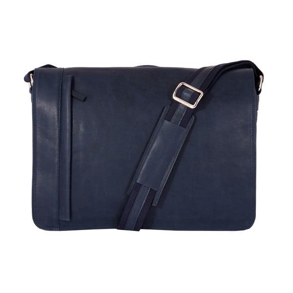 Pánská messenger taška Vintage Ocean Blue