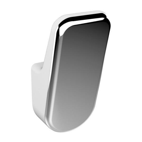 Sila 2 részes ezüstszínű fali akasztó szett - Wenko