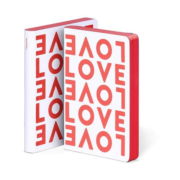 Zápisník Love, 10,8x15 cm