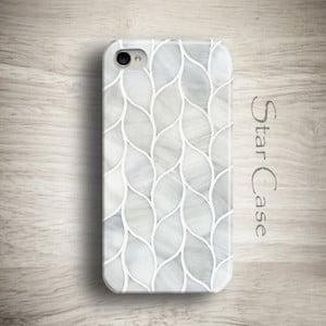 Obal na iPhone 4/4S Marble Grey