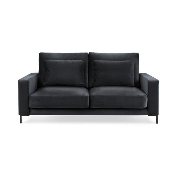 Seine sötétszürke bársony kanapé, 158 cm - Interieurs 86