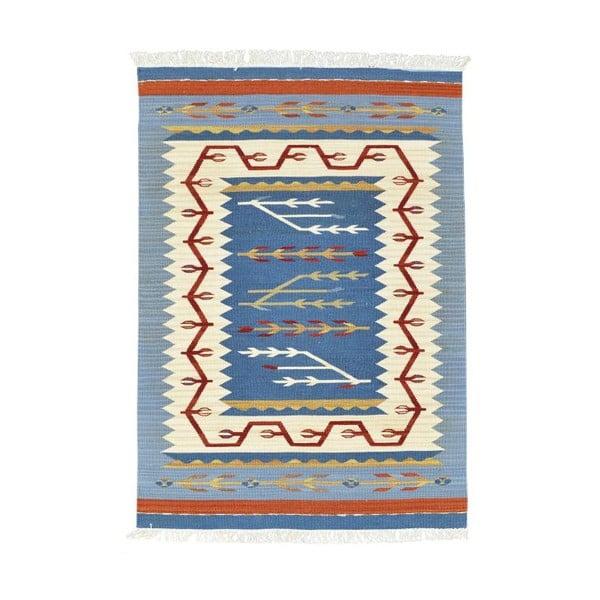 Vlněný koberec Kilim Classic AK03 Mix, 95x155 cm