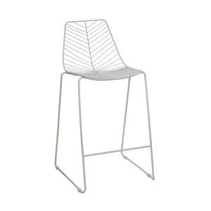 Bílá barová židle Ixia Garden
