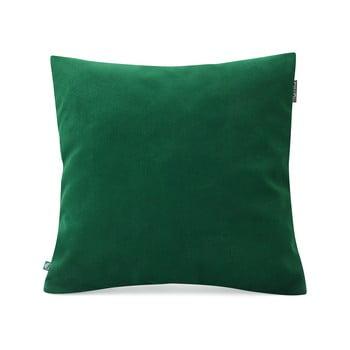 Față de pernă decorativă Mumla Velvet, 45 x 45 cm, verde sticlă