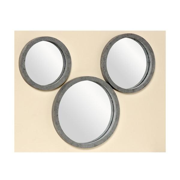Sada 3 nástěnných zrcadel Brest