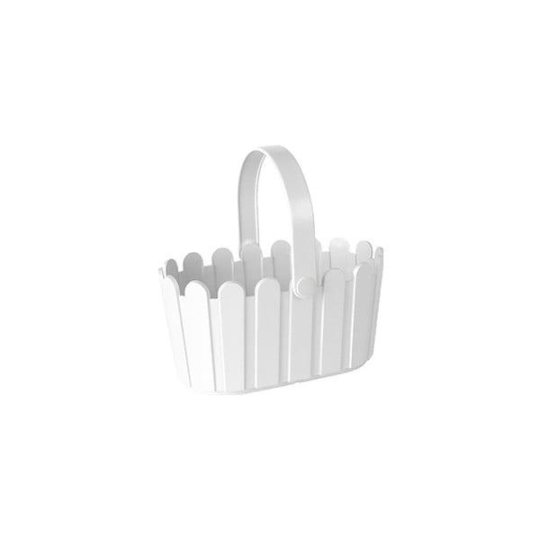 Květináč Landhaus Basket White