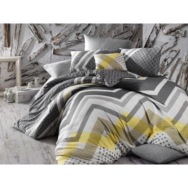 Lenjerie de pat cu cearșaf Lorela, 200 x 220 cm