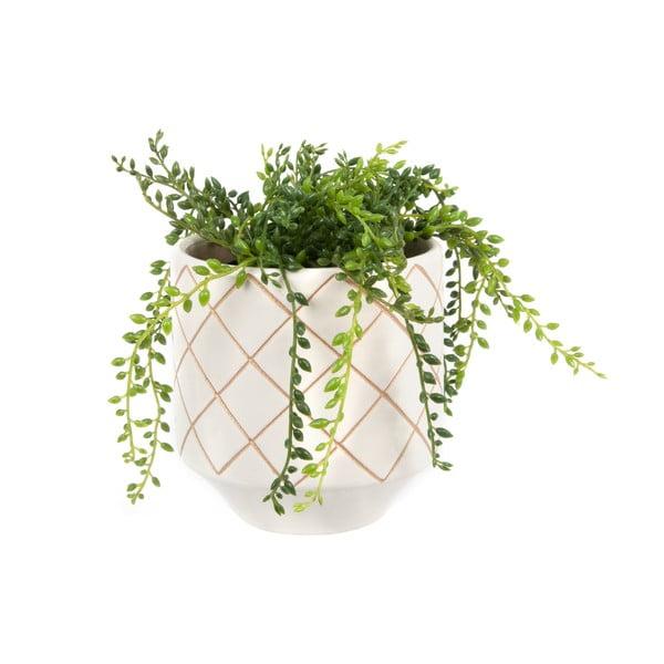 Květináč Present Time Carved White