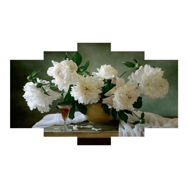 5dílný obraz Floral
