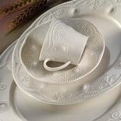 24dílná sada porcelánového nádobí Kutahya Stitched