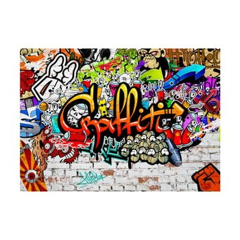 Tapet format mare Bimago Colourful Graffiti, 400 x 280 cm