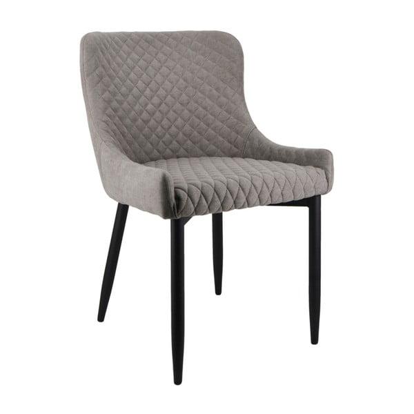 Šedá jídelní židle Moycor Melissa Checkered