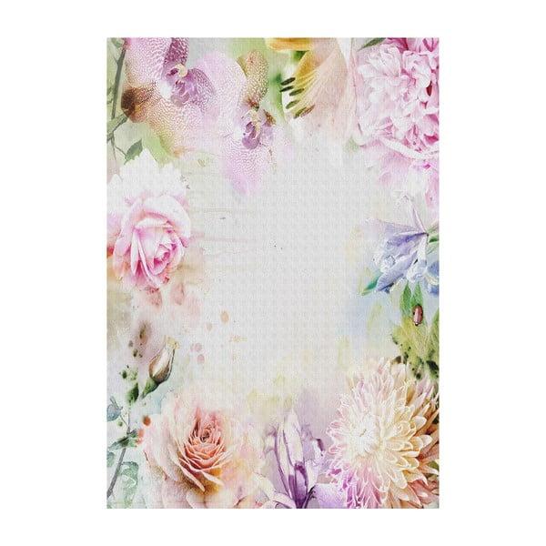 Vinylový koberec Rosas Orquídeas, 133x200 cm