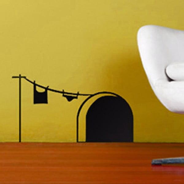 Vinylová samolepka na stěnu Myší domov